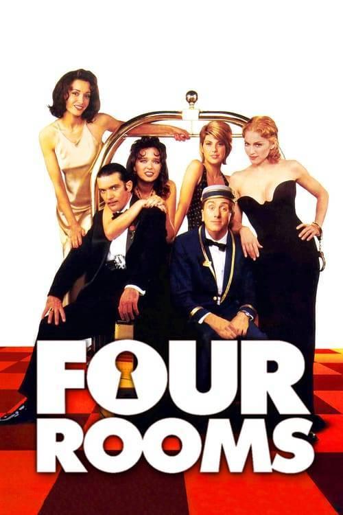 ดูหนังออนไลน์ฟรี Four Rooms (1995) คู่ขาบ้าท้าโลก