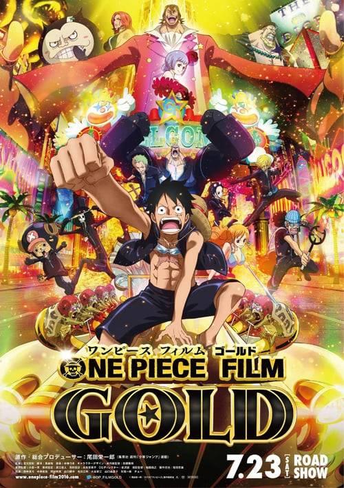 ดูหนังออนไลน์ฟรี One Piece The Movie 13 Film Gold (2016) วันพีช ฟิล์ม โกลด์