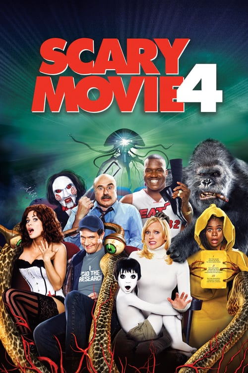 ดูหนังออนไลน์ฟรี Scary Movie 4 (2006) ยําหนังจี้ หวีดล้างโลก ภาค 4
