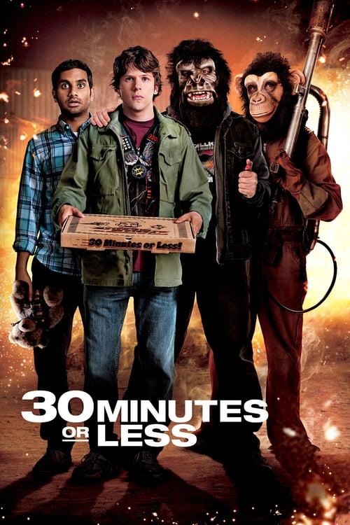 ดูหนังออนไลน์ 30 Minutes or Less (2011) 30 นาทีพี่ขอปล้น