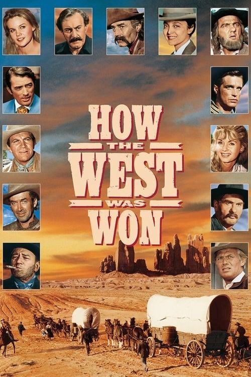 ดูหนังออนไลน์ฟรี How the West Was Won (1962) พิชิตตะวันตก