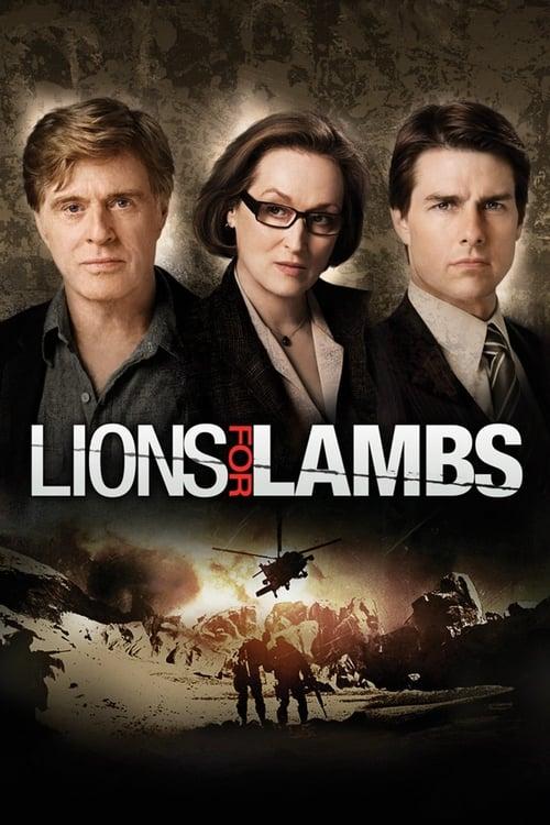 ดูหนังออนไลน์ Lions for Lambs (2007) ปมซ่อนเร้นโลกสะพรึง