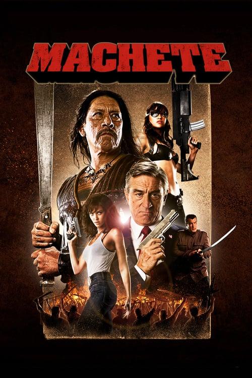 ดูหนังออนไลน์ฟรี Machete (2010) ระห่ำ กระฉูด