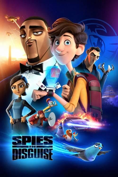 ดูหนังออนไลน์ฟรี Spies in disguise (2020) ยอดสปายสายพราง