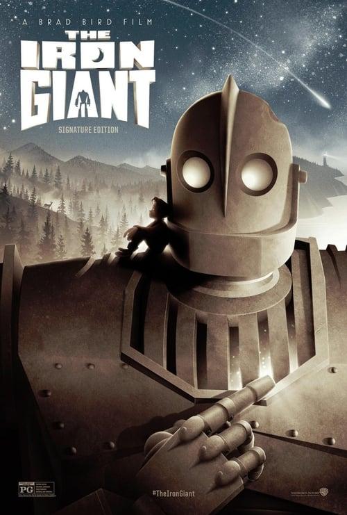 ดูหนังออนไลน์ฟรี The Iron Giant (1999) หุ่นเหล็กจอมพลัง
