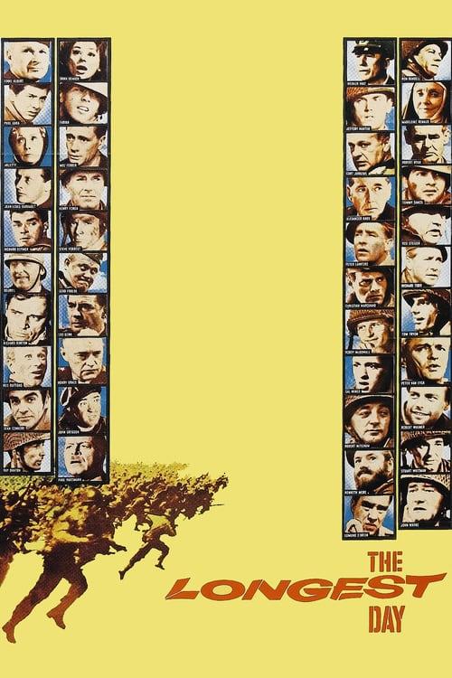 ดูหนังออนไลน์ฟรี The Longest Day (1962) วันเผด็จศึก