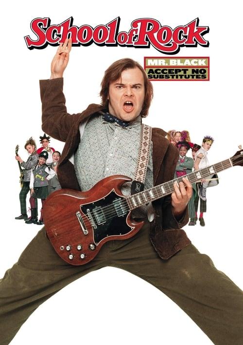 ดูหนังออนไลน์ฟรี School of Rock (2003) ครูซ่าเปิดตำราร็อค