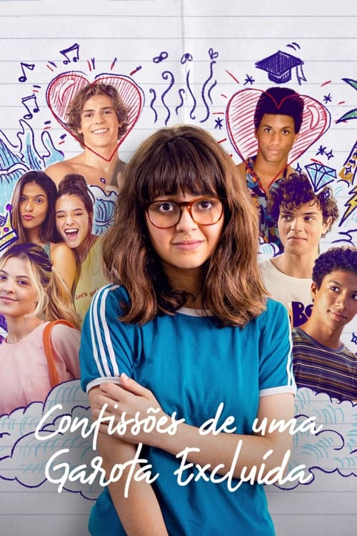 ดูหนังออนไลน์ฟรี [NETFLIX] Confessions of an Invisible Girl (2021) คำสารภาพของสาวล่องหน