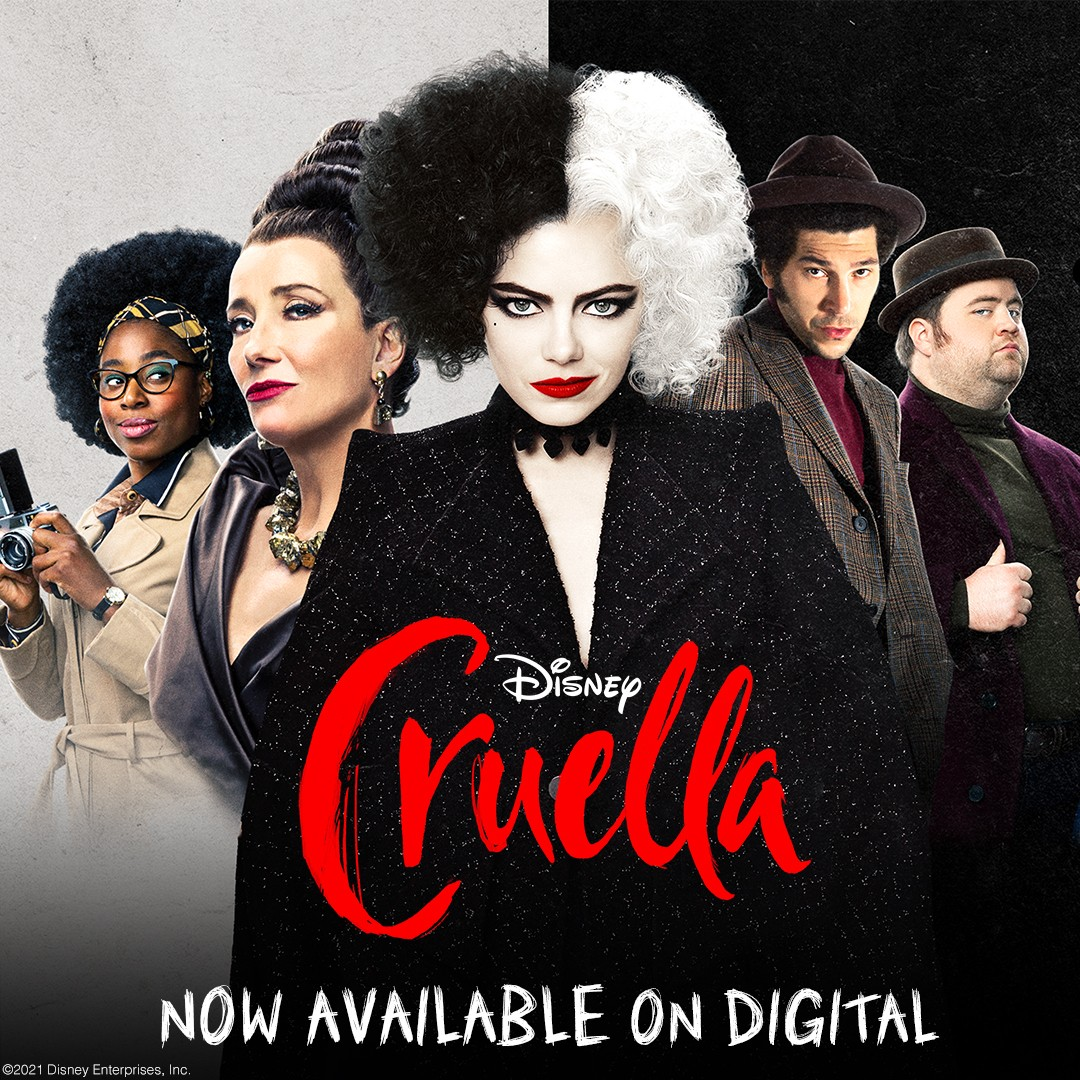 ดูหนังออนไลน์ฟรี Cruella 2021 ครูเอลล่า 2021