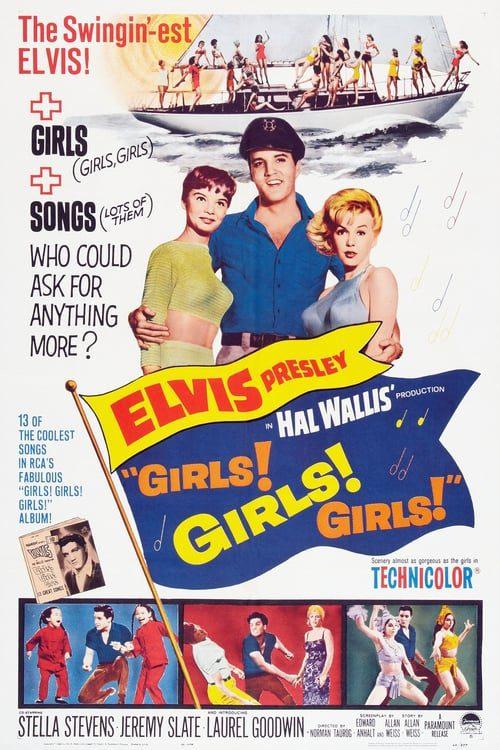 ดูหนังออนไลน์ฟรี girls girls girls (1962) ผู้หญิง ผู้หญิง ผู้หญิง